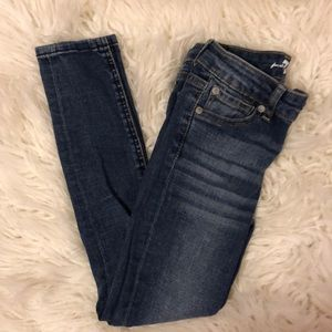 "7 For All Mankind Bottoms - 7 for All Mankind""the Skinny"" Sz 7"